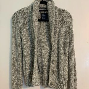 Heather grey American Eagle cardigan